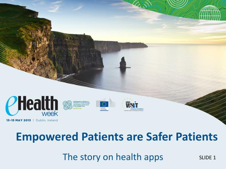 Empowered patients are safer patients