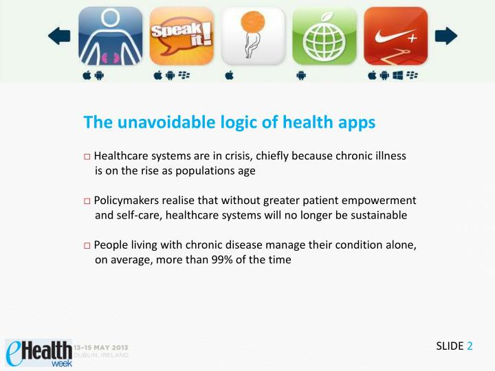 The unavoidable logic of health apps