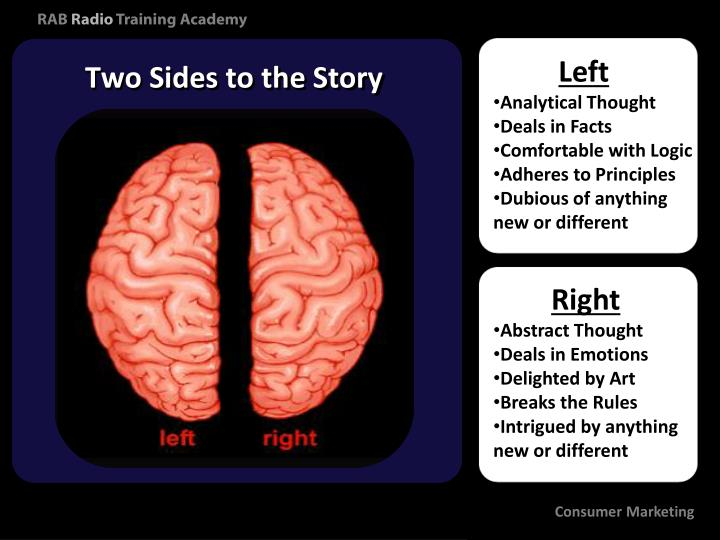 Two Sides to the Story