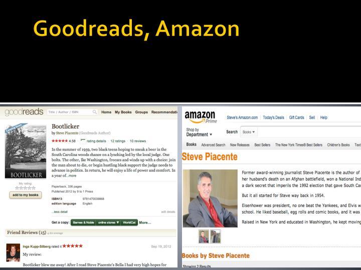 Goodreads, Amazon
