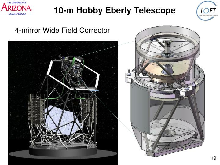 10-m Hobby Eberly Telescope