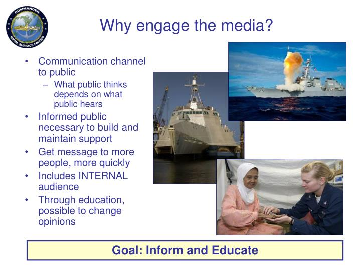 Why engage the media