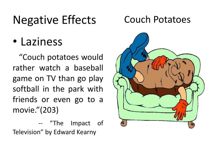 bad effects of television