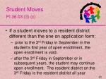 student moves pi 36 03 3 c