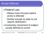 arrest defined2