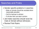 searches and frisks1