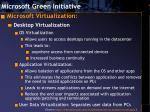microsoft green initiative10