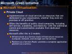 microsoft green initiative11