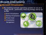 microsoft green initiative8