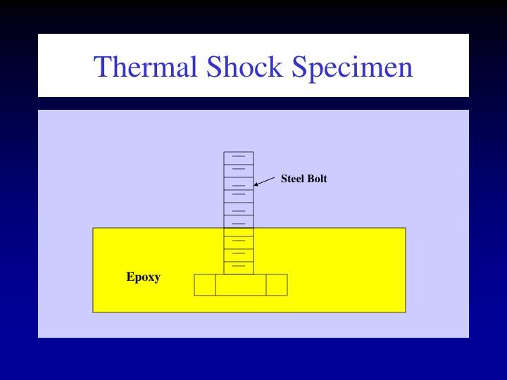 Thermal Shock Specimen
