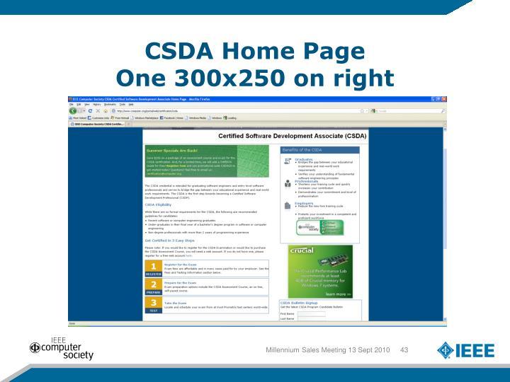 CSDA Home Page