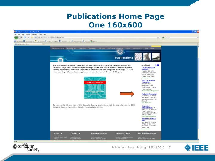 Publications Home Page