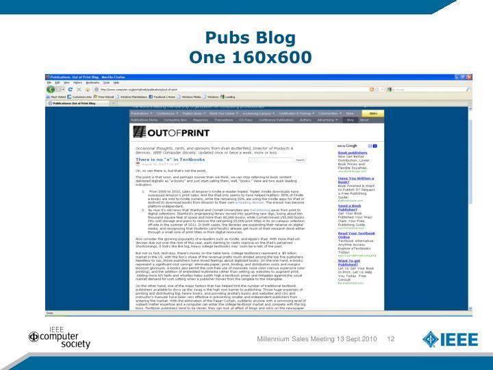 Pubs Blog