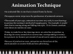 animation technique