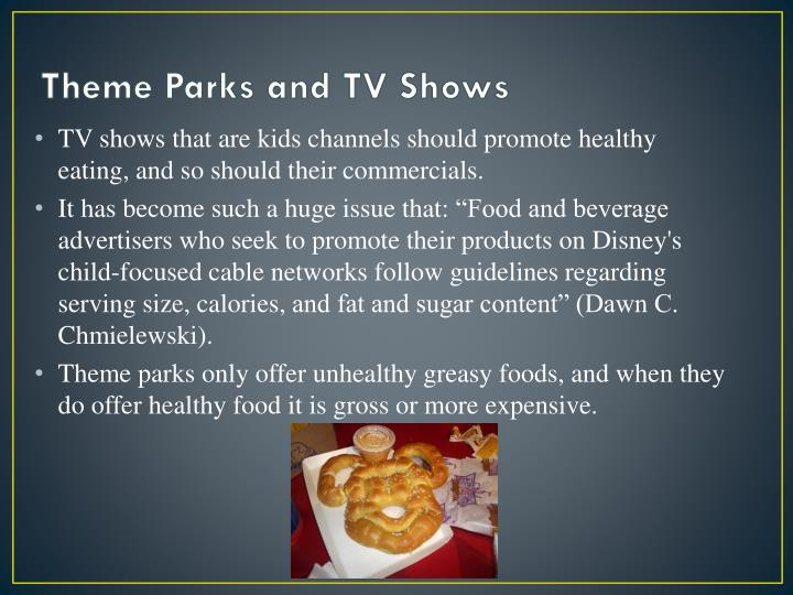 Theme Parks and TV Shows