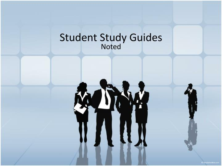 student study guides