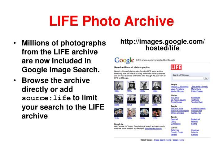 LIFE Photo Archive
