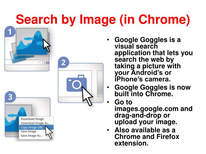 Search by Image (in Chrome)