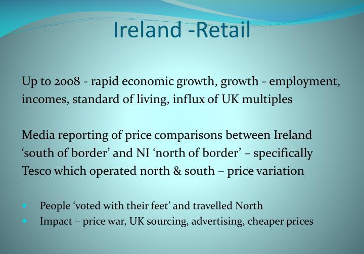 Ireland -Retail