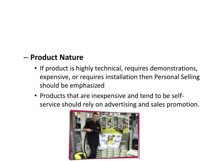 Product Nature