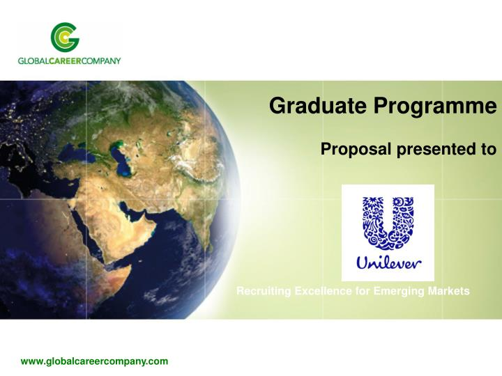 Graduate programme proposal presented to