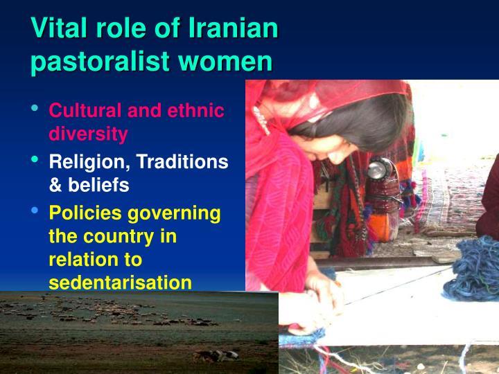 Vital role of Iranian