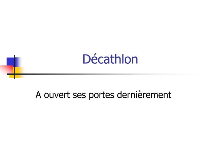 D cathlon