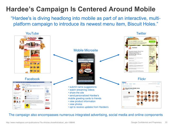 Hardee's Campaign Is Centered Around Mobile