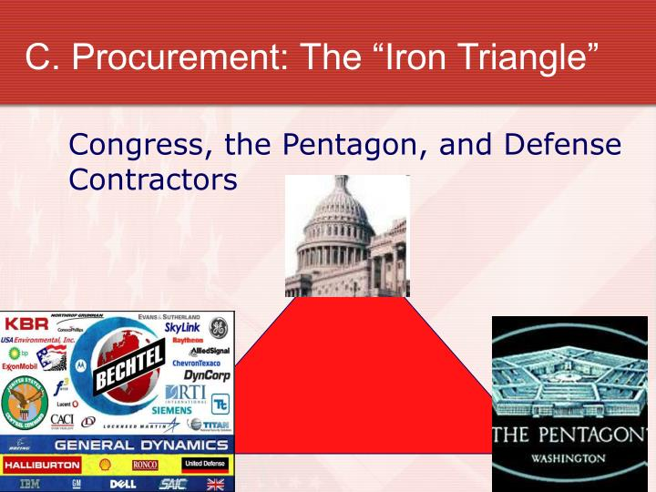 "C. Procurement: The ""Iron Triangle"""