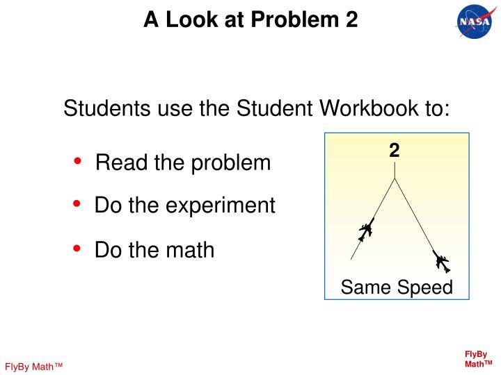 A Look at Problem 2