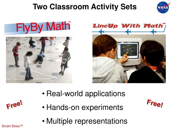 Two Classroom Activity Sets