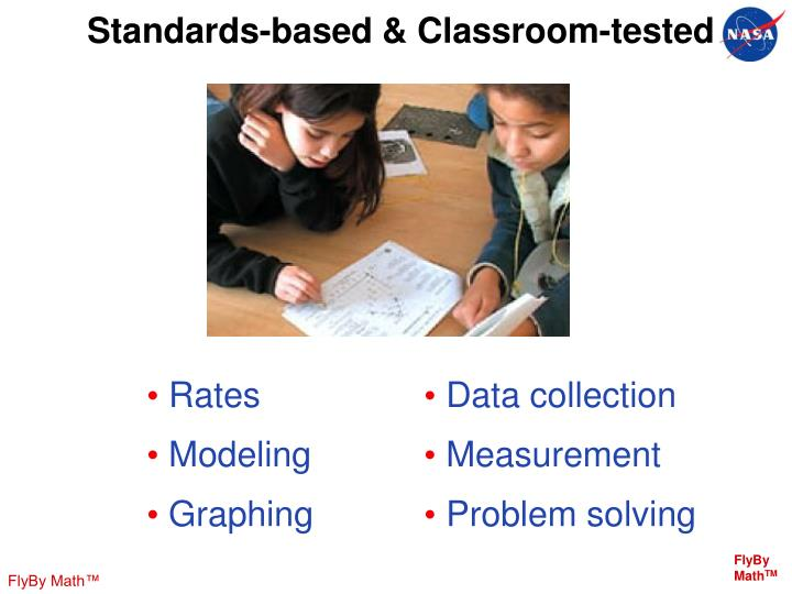 Standards-based & Classroom-tested