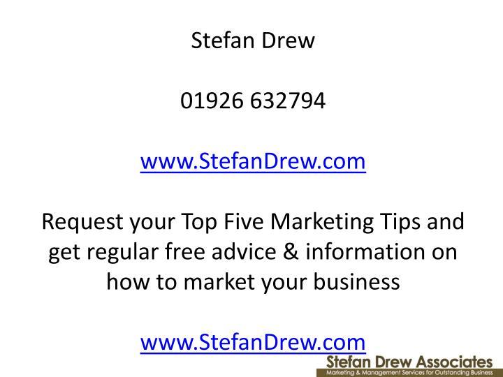 Stefan Drew