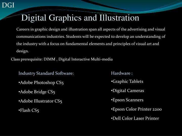 Digital graphics and illustration