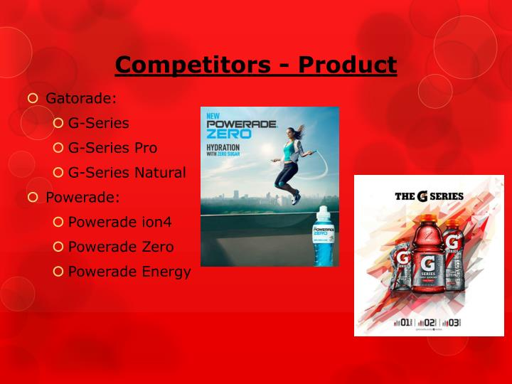 Competitors - Product