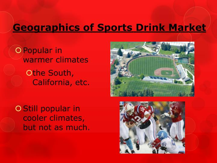 Geographics of Sports Drink Market