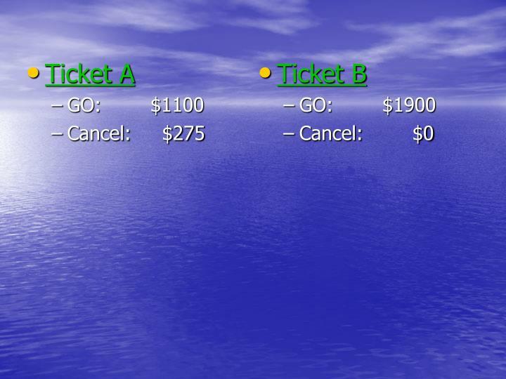 Ticket A