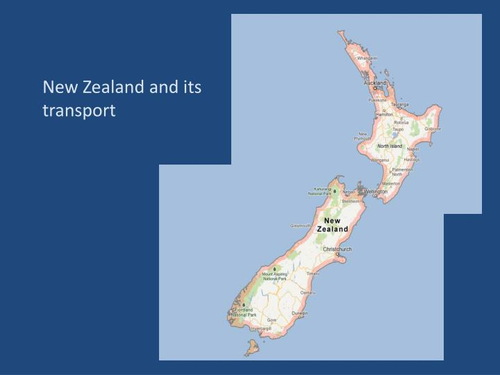 New Zealand and its transport