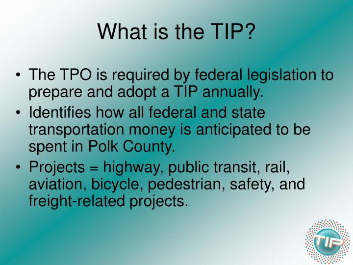 What is the TIP?