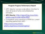 program progress performance report3
