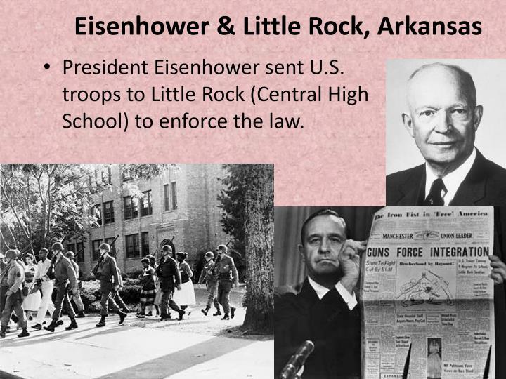 Eisenhower & Little Rock, Arkansas
