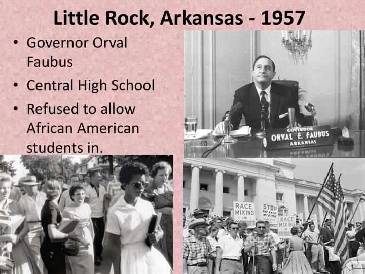 Little Rock, Arkansas - 1957