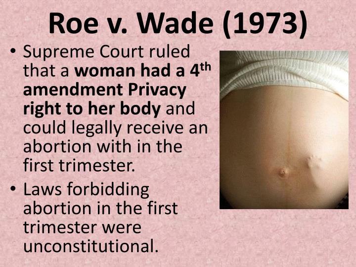 Roe v. Wade (1973)
