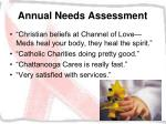 annual needs assessment40
