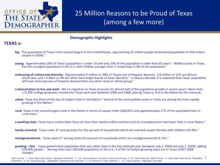 25 million reasons to be proud of texas among a few more