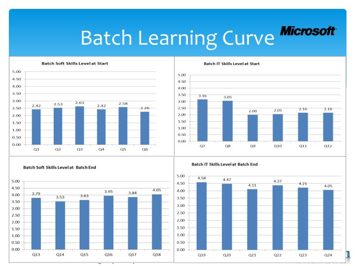 Batch Learning Curve