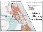 alternate planning boundaries