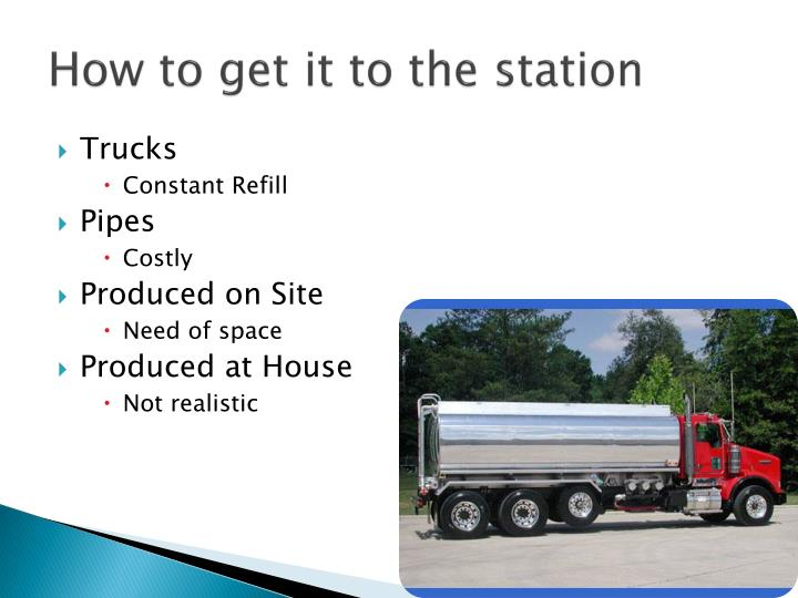 How to get it to the station