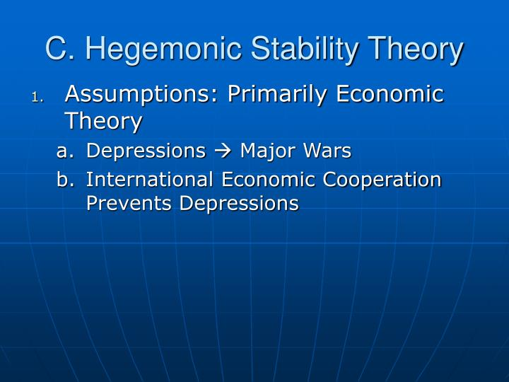C. Hegemonic Stability Theory