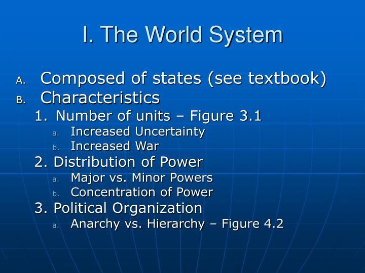 I the world system